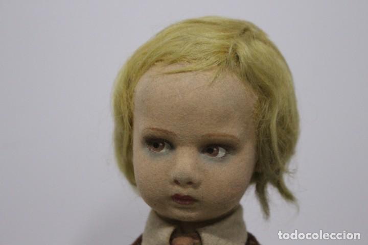 Muñecas Extranjeras: Preciosa muñeca Lenci, todo original, 43 cm. año 1931, nombre de catalogo Pouty piccolo gentiluomo - Foto 3 - 159368834
