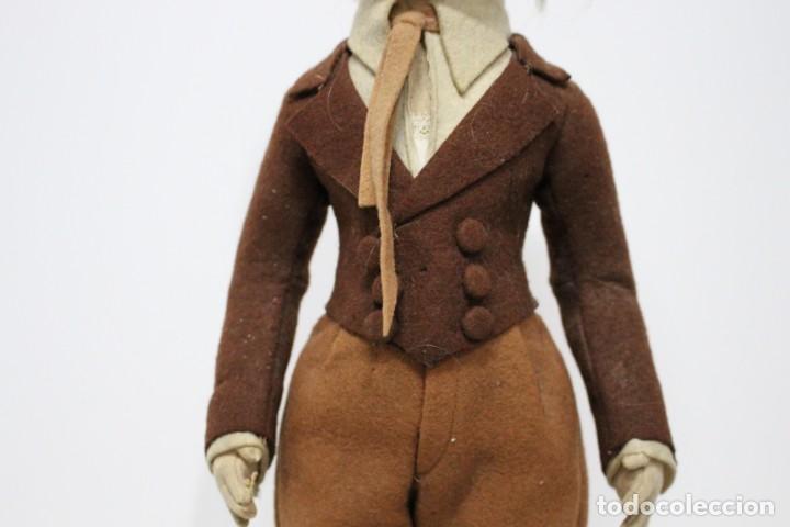 Muñecas Extranjeras: Preciosa muñeca Lenci, todo original, 43 cm. año 1931, nombre de catalogo Pouty piccolo gentiluomo - Foto 4 - 159368834