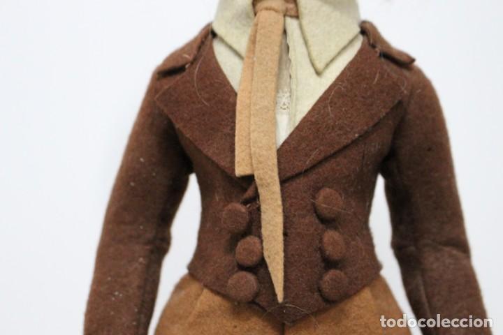 Muñecas Extranjeras: Preciosa muñeca Lenci, todo original, 43 cm. año 1931, nombre de catalogo Pouty piccolo gentiluomo - Foto 5 - 159368834