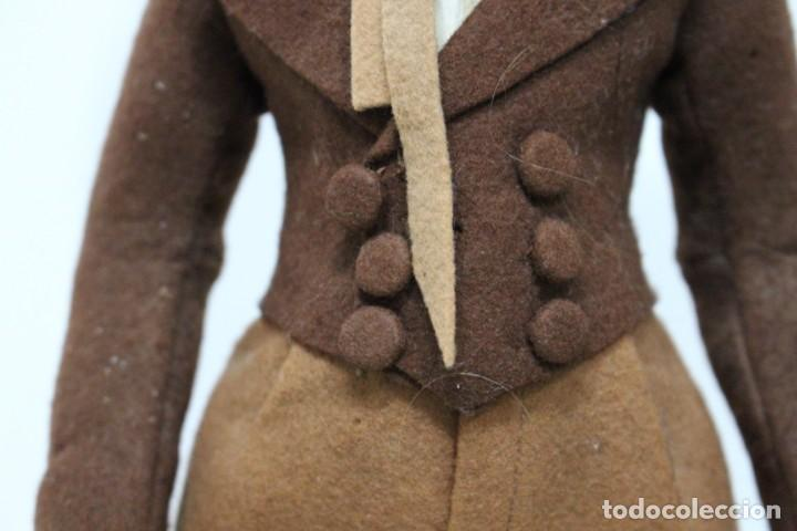 Muñecas Extranjeras: Preciosa muñeca Lenci, todo original, 43 cm. año 1931, nombre de catalogo Pouty piccolo gentiluomo - Foto 6 - 159368834