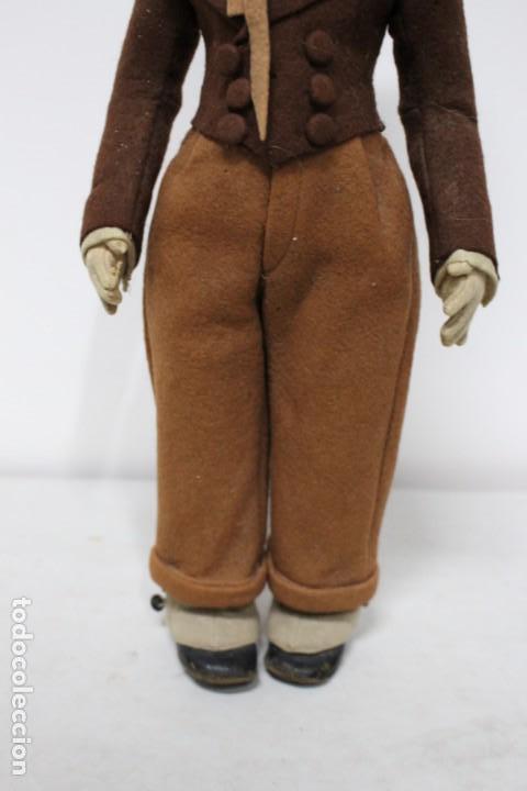 Muñecas Extranjeras: Preciosa muñeca Lenci, todo original, 43 cm. año 1931, nombre de catalogo Pouty piccolo gentiluomo - Foto 9 - 159368834