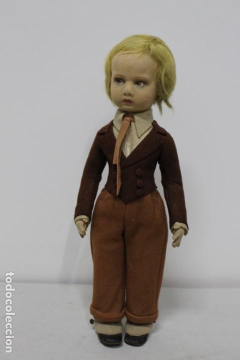 Muñecas Extranjeras: Preciosa muñeca Lenci, todo original, 43 cm. año 1931, nombre de catalogo Pouty piccolo gentiluomo - Foto 2 - 159368834