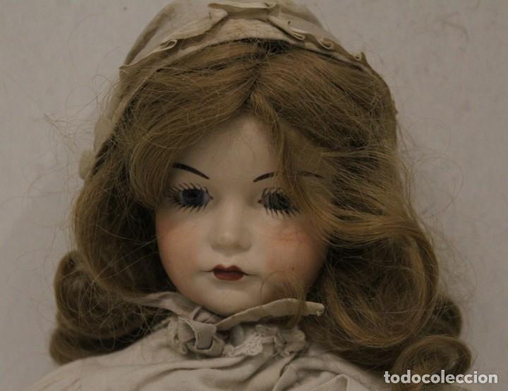 Muñecas Extranjeras: Muñeca, porcelana y trapo Kammer Reinhardt, posiblemente sea una reproducción - Foto 2 - 160015342