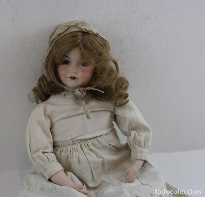 Muñecas Extranjeras: Muñeca, porcelana y trapo Kammer Reinhardt, posiblemente sea una reproducción - Foto 3 - 160015342