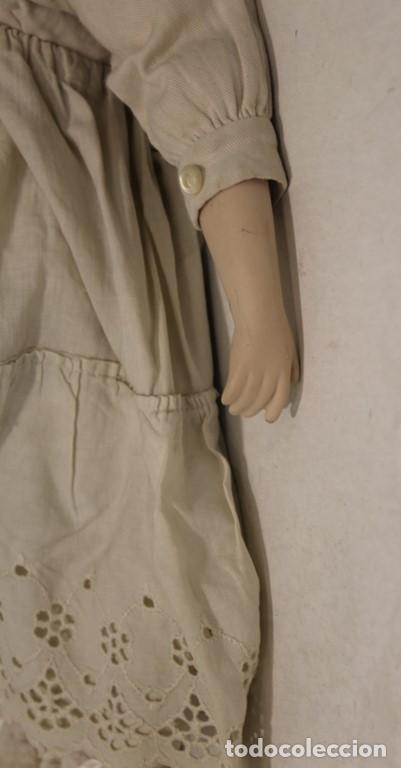 Muñecas Extranjeras: Muñeca, porcelana y trapo Kammer Reinhardt, posiblemente sea una reproducción - Foto 5 - 160015342