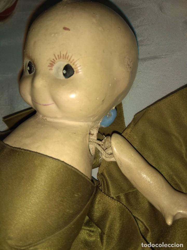 Muñecas Extranjeras: Antiguo Muñeco Kewpie - Foto 3 - 160035330