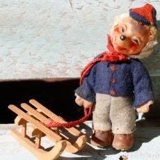 International Dolls - muñeco erizo Mecki, steiff, Años 50 - 165113110