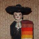 Muñecas Extranjeras: MUÑECO CHARRO MEJICANO,FINALES AÑOS 50. Lote 165224690