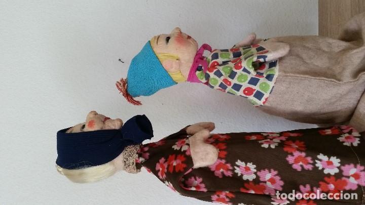Muñecas Extranjeras: ANTIGUAS MARIONETAS ANOS 30/40 HECHOS A MANO HECHO DE TEGIDO Y PAPEL - Foto 8 - 213538008