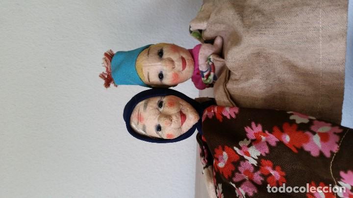 Muñecas Extranjeras: ANTIGUAS MARIONETAS ANOS 30/40 HECHOS A MANO HECHO DE TEGIDO Y PAPEL - Foto 10 - 213538008