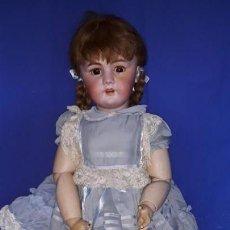 International Dolls - Antigua muñeca articulada de carto- piedra con cabeza de biscuit. Ver fotos adicionales - 168699916
