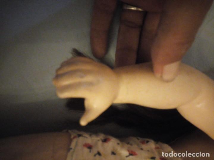 Muñecas Extranjeras: Preciosa muñeca cartón piedra,ojos de cristal durmientes,pelo natural, jne 9 - Foto 17 - 169956874