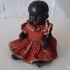 Muñecas Extranjeras: ANTIGUA MUÑECA NEGRA. Lote 171204100