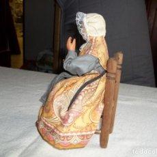 Muñecas Extranjeras: SANTON ANCIANA. Lote 171391710
