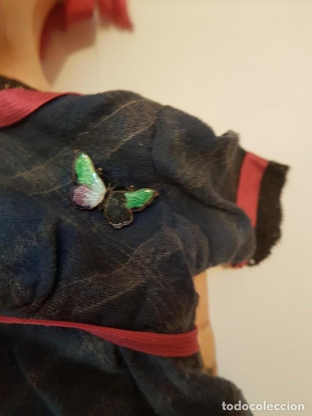 Muñecas Extranjeras: Effanbee Dainty doll Año 1913 - Con 2 trajes originales y pins completos - Foto 5 - 172849282