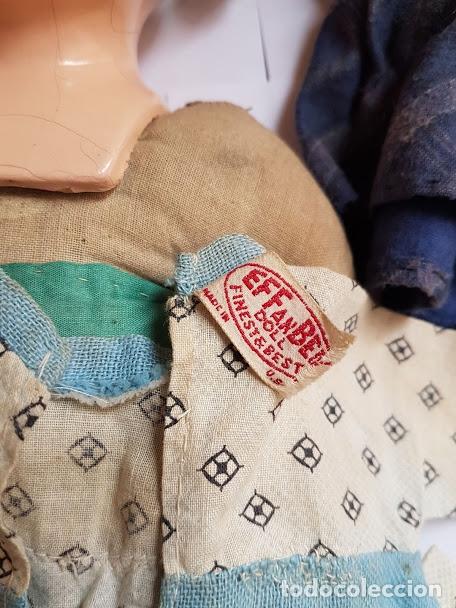 Muñecas Extranjeras: Effanbee Dainty doll Año 1913 - Con 2 trajes originales y pins completos - Foto 6 - 172849282