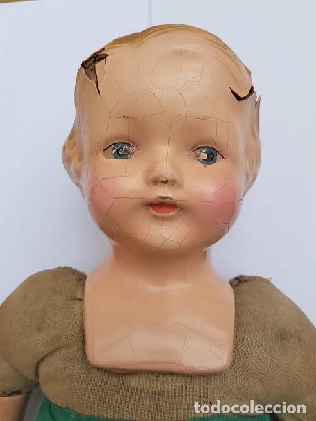 Muñecas Extranjeras: Effanbee Dainty doll Año 1913 - Con 2 trajes originales y pins completos - Foto 8 - 172849282