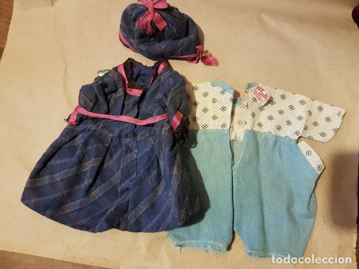 Muñecas Extranjeras: Effanbee Dainty doll Año 1913 - Con 2 trajes originales y pins completos - Foto 12 - 172849282