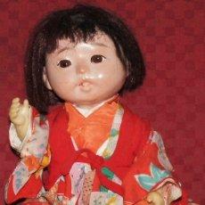 Muñecas Extranjeras: ANTIGUO BEBÉ JAPONES GOFUN ICHIMATSU NINGYO. Lote 174344118