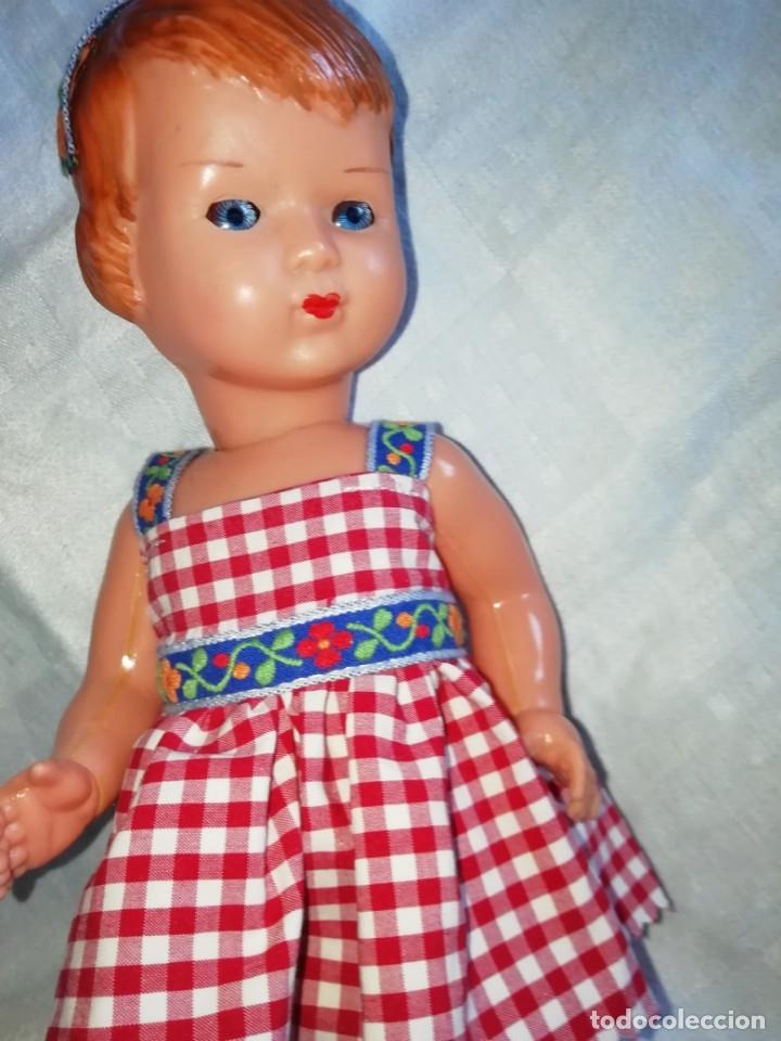 Muñecas Extranjeras: Muñeca 28cm italiana celuloide - Foto 3 - 176156387