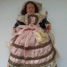 Muñecas Extranjeras: MUÑECA DE PLASTICO BRETAGNE MARCA POUPEE.. Lote 176585950