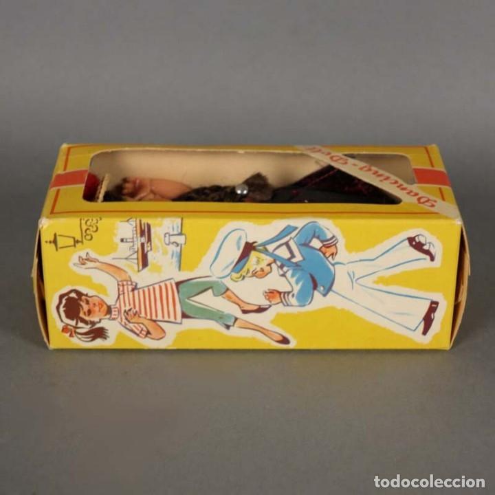 Muñecas Extranjeras: Muñeca Dancing Doll Sweetheart en su caja original. 1950 - 1960 (BRD) - Foto 3 - 177295230