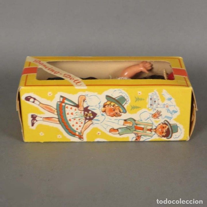 Muñecas Extranjeras: Muñeca Dancing Doll Sweetheart en su caja original. 1950 - 1960 (BRD) - Foto 4 - 177295230