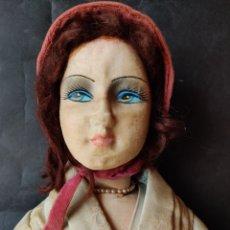 Muñecas Extranjeras: MUÑECA BOUDOIR AÑOS 20, 60 CM. Lote 150426150
