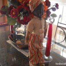 Muñecas Extranjeras: MUÑECO FABRICADO EN CUBA,CABEZA DE CARTÒN, CUERPO DE RELLENO, TODO ORIGINAL, 50 CMS, AÑOS 40. Lote 180005977