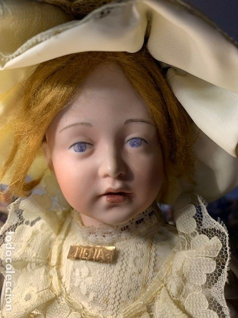 MUÑECA DE PORCELANA - SIMON & HALBING R. ASTRID (Juguetes - Muñeca Extranjera Antigua - Otras Muñecas)