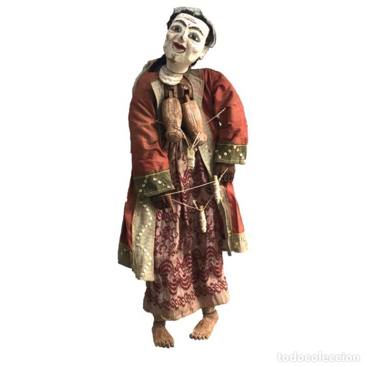 MARIONETA DE HILOS CHINA (Juguetes - Muñeca Extranjera Antigua - Otras Muñecas)