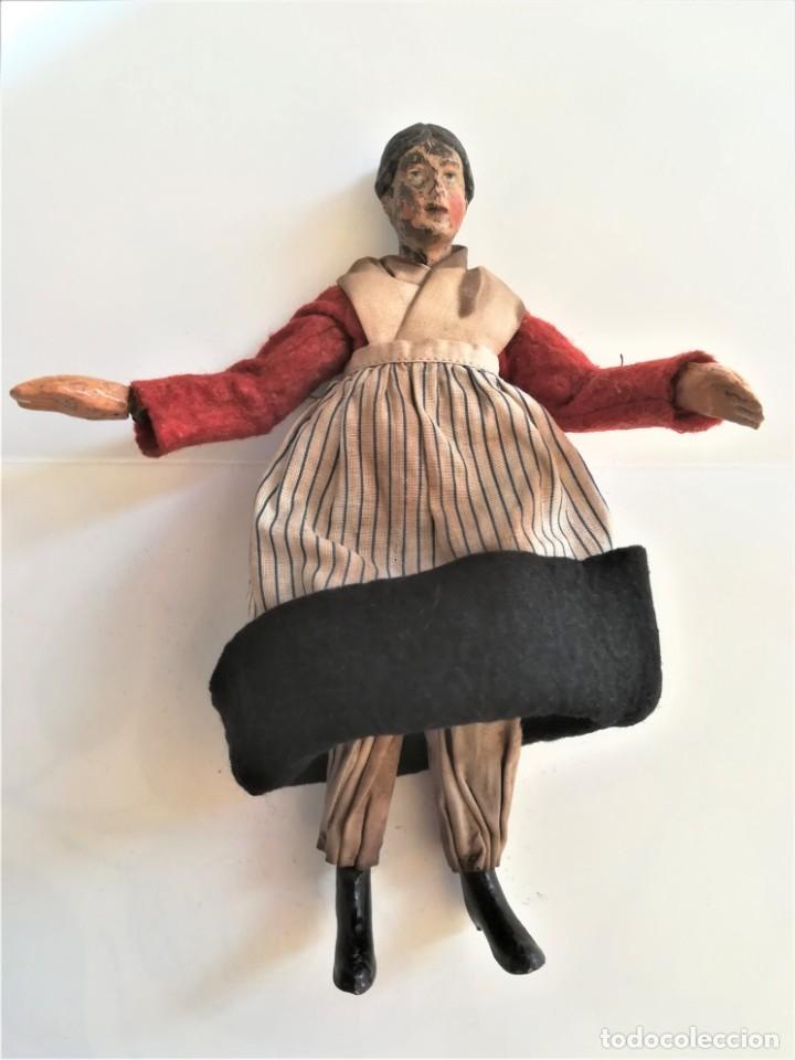 Muñecas Extranjeras: ANTIGUA MUÑECA SUIZA,AÑO 1920,ARTICULADA,CUERPO METALICO Y CERAMICA,SABA BUCHERER,EL PRIMER MADELMAN - Foto 5 - 182254080