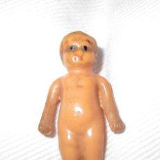 Muñecas Extranjeras: MUY RARO MUÑECO ALEMÁN EN MINIATURA (4 CMS.). Nº 4 EN LA ESPALDA. PINTADO A MANO. FINALES SIGLO XIX.. Lote 182707067
