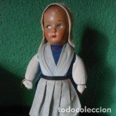 Muñecas Extranjeras: ANTIGUA Y PRECIOSA MUÑECA HOLANDESA . Lote 182906357