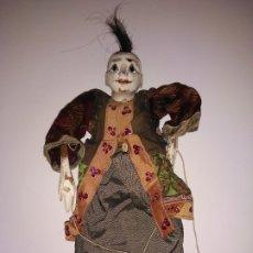 Muñecas Extranjeras: ANTIGUA MARIONETA DE MADERA DE 34 CM. Lote 183076388