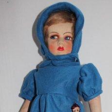 Muñecas Extranjeras: MUÑECA ITALIANA LENCI DE CARA SERIA - DOLL POUPÉE. Lote 184024457