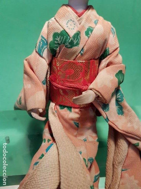 Muñecas Extranjeras: ANTIGUA MUÑECA JAPONESA EN COMPOSICION DE MEDIADOS SG.XX. - Foto 4 - 199988815