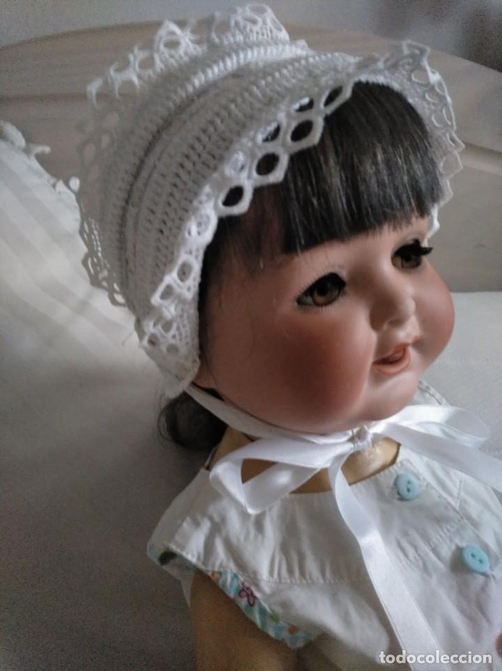 Muñecas Extranjeras: Muñeca Heubach Koppelsdorf años 20 porcelana y composición - Foto 2 - 185879810
