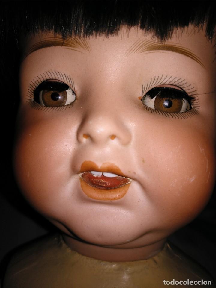 Muñecas Extranjeras: Muñeca Heubach Koppelsdorf años 20 porcelana y composición - Foto 12 - 185879810