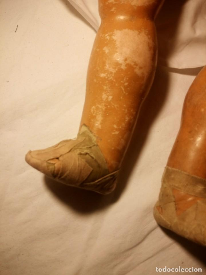 Muñecas Extranjeras: Antigua muñeca carton piedra k.r,Kammer & Reinhard 11/8 germany - Foto 12 - 188835436