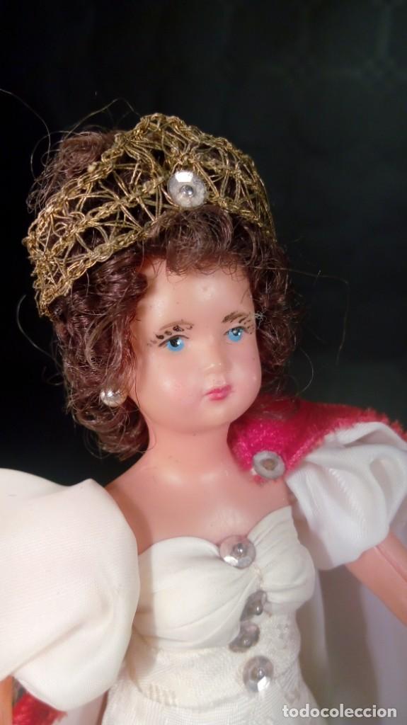 Muñecas Extranjeras: NAPOLEÓN BONAPARTE Y JOSEFINA. MUÑECOS CELULOIDE. OJOS PINTADOS. ARTESANALES. TIPO PETITCOLLIN. - Foto 3 - 190144665