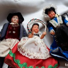 Muñecas Extranjeras: MUÑECOS DE CELULOIDE. Lote 191697278