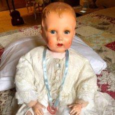 Muñecas Extranjeras: MUÑECO ANTIGUO SELLADO PARIS Y NUMERADO. Lote 192048712