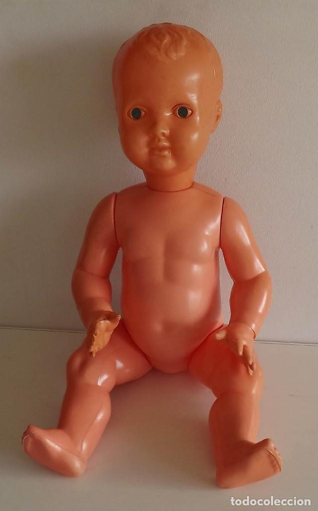 Muñecas Extranjeras: Muñeca alemana de los años 50 ó 60. Altura 58 cm. Estimación 100 euros - Foto 7 - 193392273