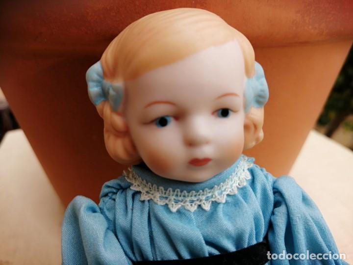 Muñecas Extranjeras: Muñequita alemana 15 cm porcelana - Foto 2 - 193670411
