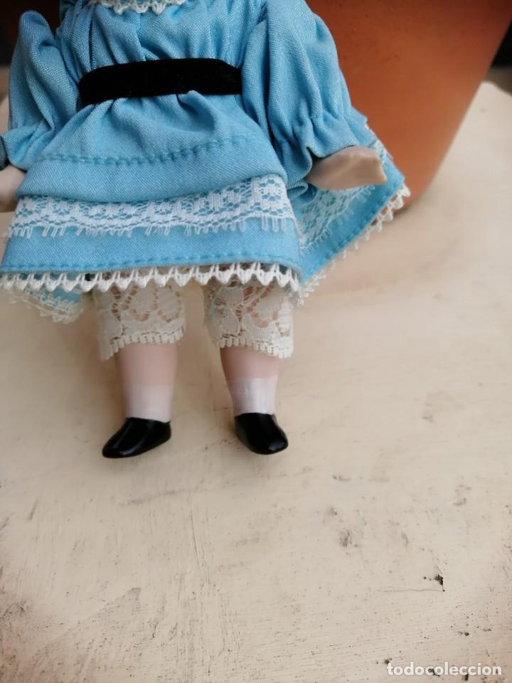 Muñecas Extranjeras: Muñequita alemana 15 cm porcelana - Foto 3 - 193670411