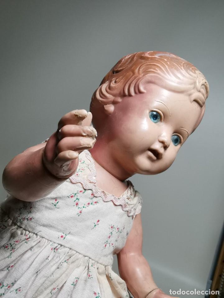 Muñecas Extranjeras: antigua muñeca de plastico años 50 marca kader made in hong kong--32 cm -muy jugada - Foto 8 - 193741127