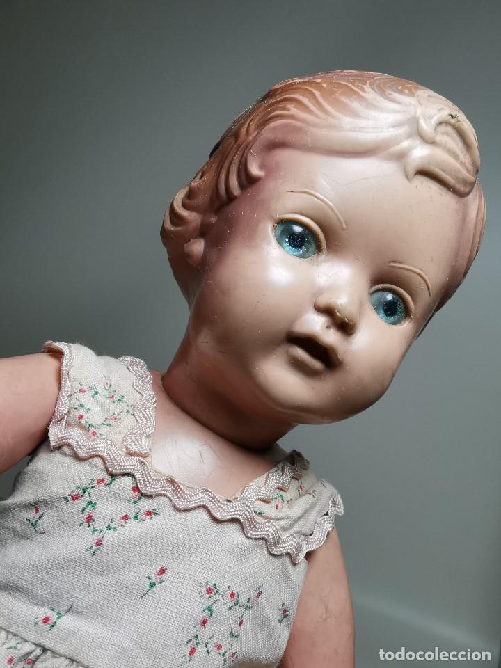 Muñecas Extranjeras: antigua muñeca de plastico años 50 marca kader made in hong kong--32 cm -muy jugada - Foto 9 - 193741127