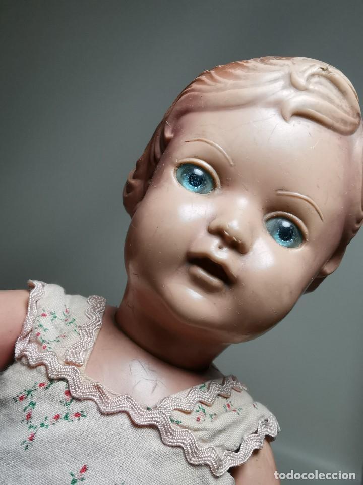 Muñecas Extranjeras: antigua muñeca de plastico años 50 marca kader made in hong kong--32 cm -muy jugada - Foto 10 - 193741127