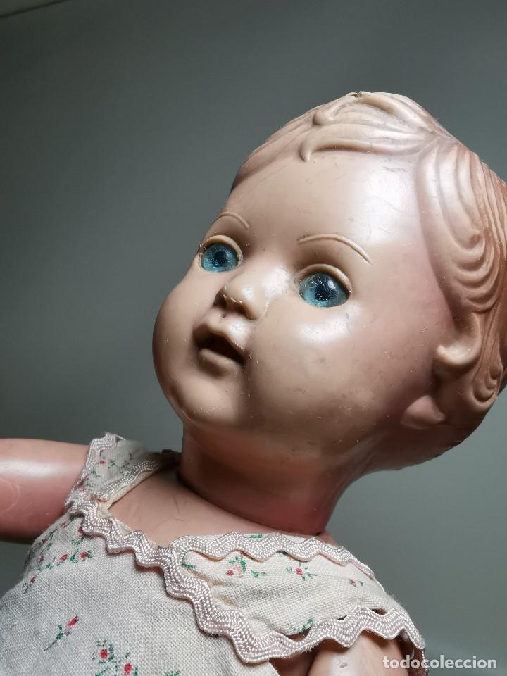 Muñecas Extranjeras: antigua muñeca de plastico años 50 marca kader made in hong kong--32 cm -muy jugada - Foto 11 - 193741127